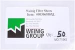 Rondamat Filter Sheets 14 x 16